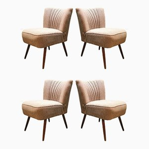 Vintage Cocktail Chairs, Set of 4