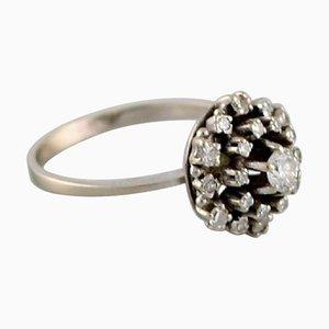 Swedish Ring in 18 Carat White Gold