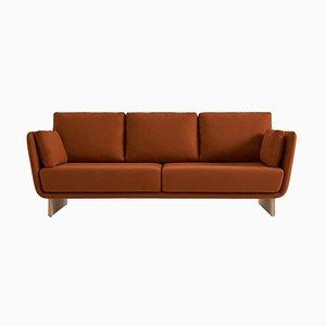 Swan Sofa mit Holzbeinen von Pepe Albargues