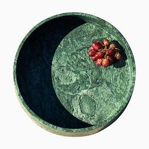Kleines Plumb Marmor Tablett von Essenzia