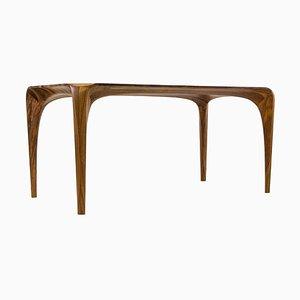 Table Spline Artisanale en Noyer par Maxime Goléo