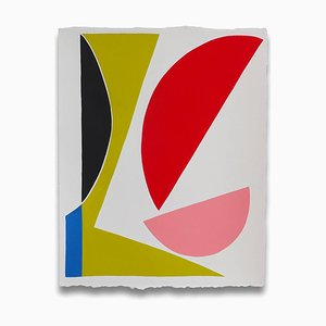 Edge Space, Abstraktes Gemälde, 2016