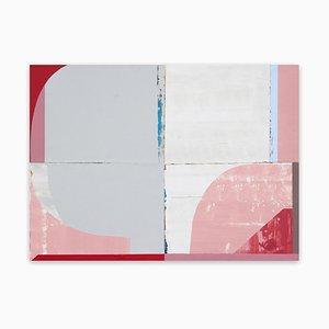 Cuore, pittura astratta, 2020