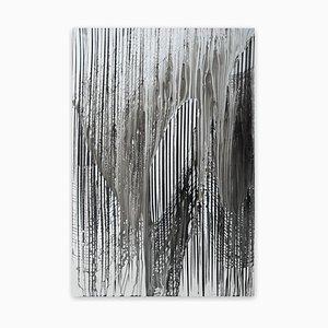 Big Melt # 10, Abstrakte Zeichnung, 2016