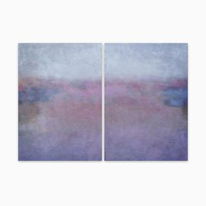 Clair de Lune, Pittura astratta, 2021