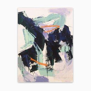 082017-1 Sin título, Obra abstracta en papel, 2017