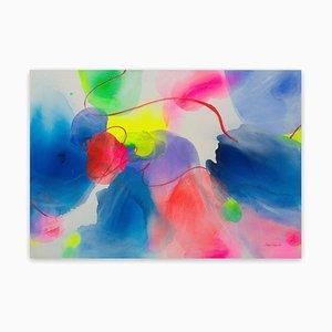 New Light IV, Pittura astratta, 2020