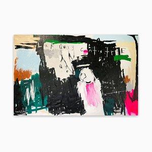 LarkQuayCuntTree, Abstraktes Gemälde, 2021