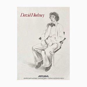 Poster Expo 79 Artcurial Paris di David Hockney