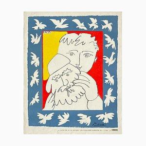 L'Humanité Dimanche De Luxe Poster von Pablo PICASSO