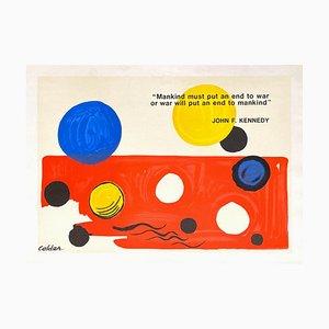 Sane Anti Nuklear Poster von Alexandre Calder