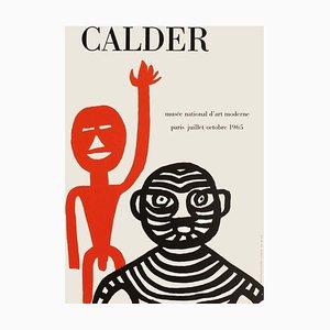 Poster Expo 65 Musée National d'Art Moderne di Alexandre Calder