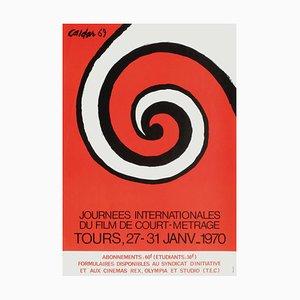 Poster di Expo 70 Journées Internationales du Film CM di Alexandre Calder