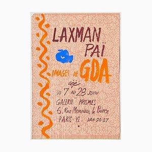 Poster Expo 56 Galerie Prismes di Goa di Laxman Pai