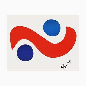Flying Colours Skybird Poster von Alexandre Calder