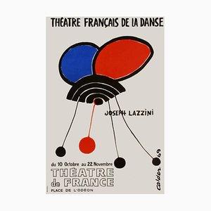 Poster Expo 69 Théatre français de la danse I di Alexandre Calder