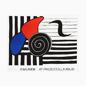 Expo 72 At Pace Columbus Poster by Alexandre Calder