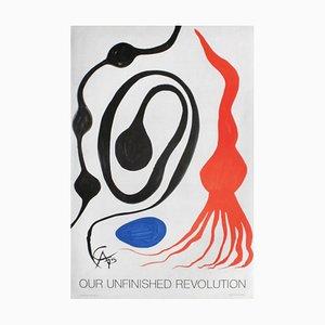 Expo 76 Our Unfinished Revolution Poster von Alexandre Calder