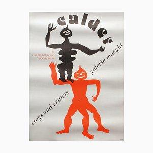 Expo 75 Galerie Maeght 2 Poster by Alexandre Calder