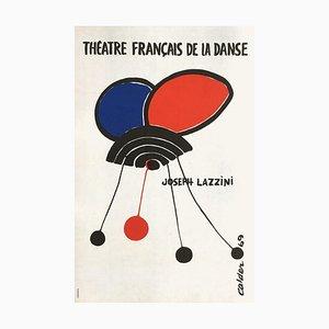 Poster Expo 69 Théatre français de la danse II di Alexandre Calder