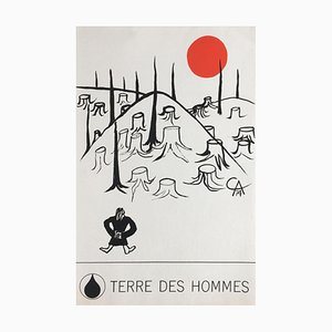Poster Terre des Hommes di Alexandre Calder