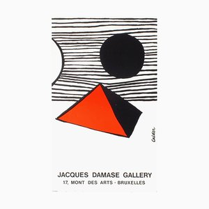 Expo 78 Jacques Damase Gallery Poster by Alexandre Calder