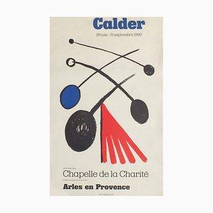 Poster Expo 80 Chapelle de la Charité Arles di Alexandre Calder