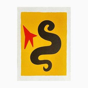 DLM195 Serpent Jaune by Alexandre Calder