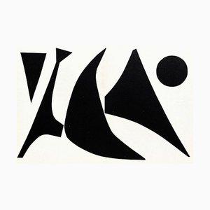 DLM113 Stabile Noir au Point by Alexandre Calder