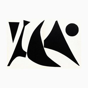 DLM113 Stabile Noir au Point von Alexandre Calder