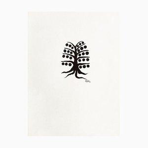 Mobiletto e albero DLM195 di Alexandre Calder