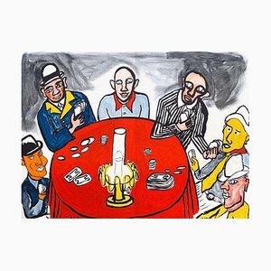 DLM212 Les Joueurs de Cartes III von Alexandre Calde