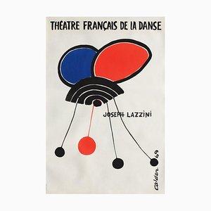 Poster Expo 69 Théâtre Français de la Danse II di Alexandre Calder
