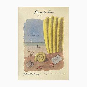Poster Expo 90 Galerie Montenay di Pierre Le Tan