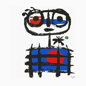 Poster Expo 83 Musée de Nimes (AVL) di Joan Miro