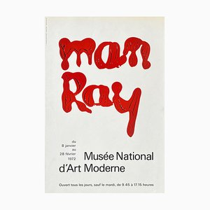 Poster Expo 72 Musée National d'Art Moderne di Man Ray