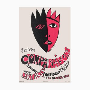 Expo 68 Salon Comparaisons Tout l'art actuel Poster by Man Ray