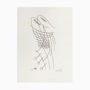 Les Treize Clichés Vierges H by Man Ray