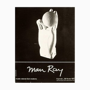 Póster de la Expo 72 Musée National d'Art Moderne de Man Ray