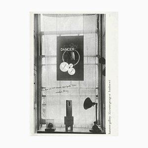 Poster Expo 69 Hanover Gallery di Man Ray