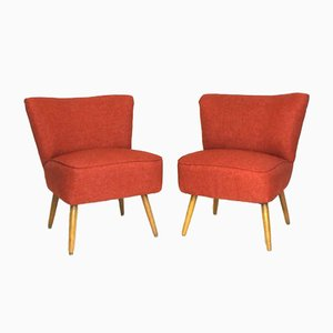 Cocktail Armchairs, Set of 2