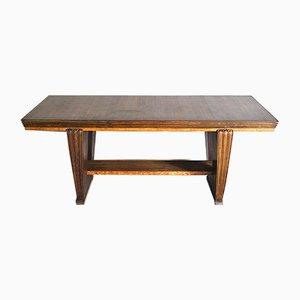 Tavolo Art Déco in legno, anni '40