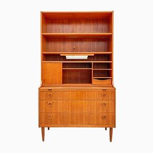 Mueble danés Mid-Century de teca de Farsø Furniture Factory, años 60