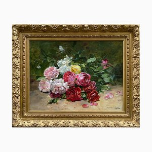 Dominique Rozier, Roses Still Life, Painting