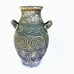 Antique Style Ceramic Jar from Jasba, Germany, 1960s