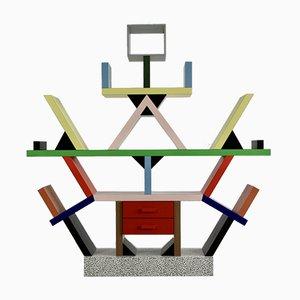Estantería modelo Carlton italiana moderna de Ettore Sottsass, 1981