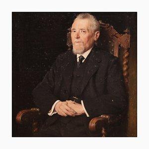 Belgian Painted Portrait of a Gentleman