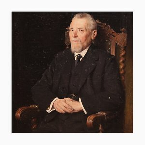 Belgisches gemaltes Porträt eines Gentleman