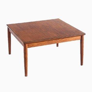 Low Teak Scandinavian Style Table, France, 1960s