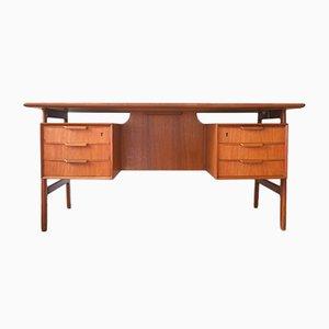 Teak Modell 75 Schreibtisch von Omann Jun, 1960er